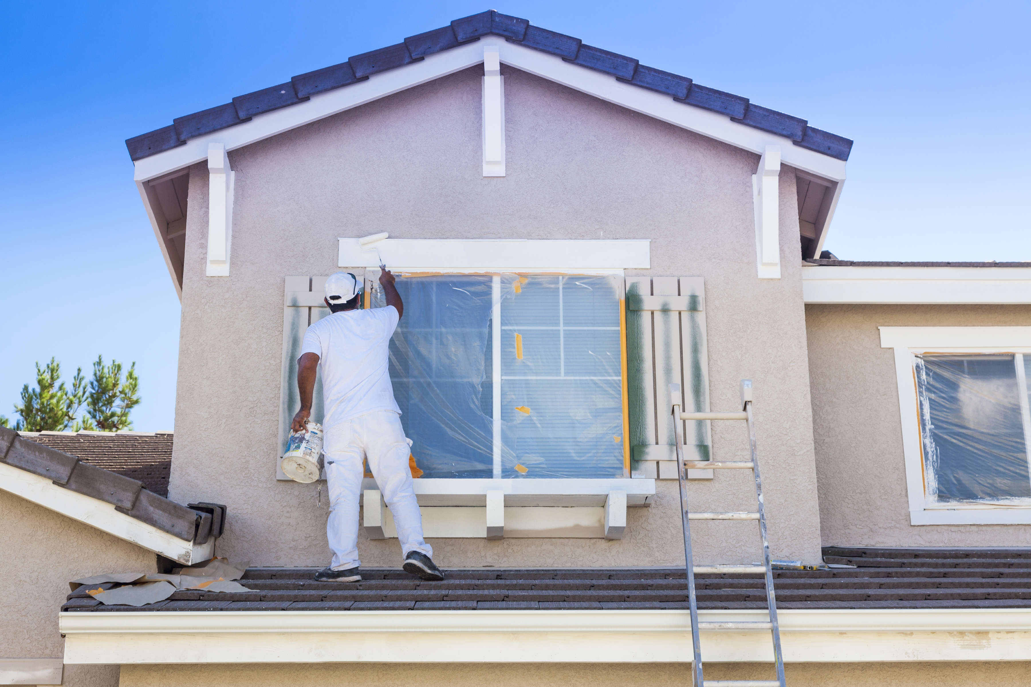 choosing an exterior paint for your home restoration by l b